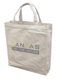 Canvas Shopperbag,natur,2 kurze Henkel,Qualität: ca. 400 gr.(Direktimport)